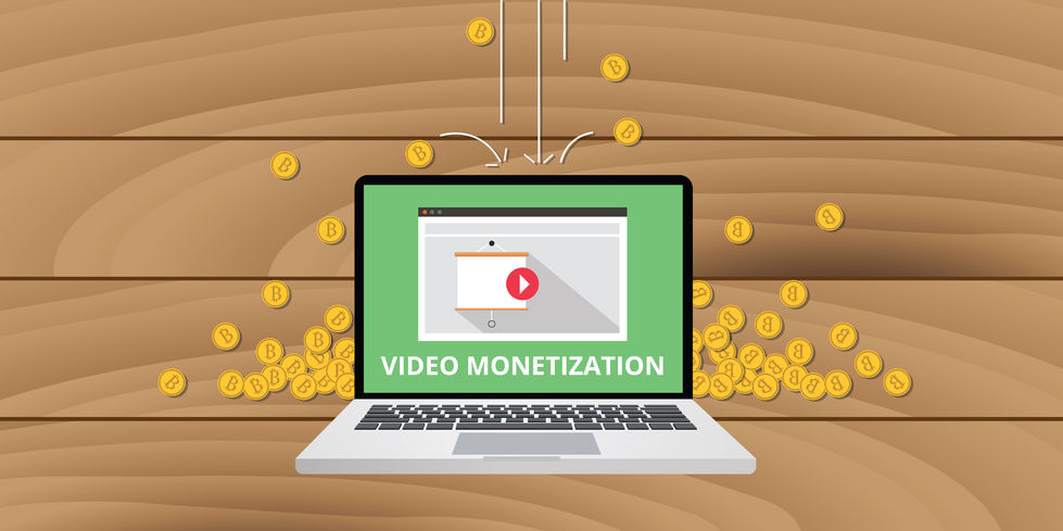 monetize your YouTube videos laptop
